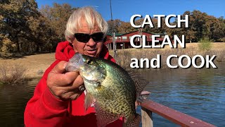 Catch Clean and Cook Crappie
