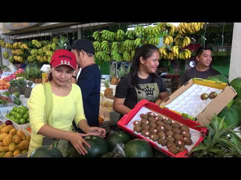 The market of Binan City (Luzon - Philippines)