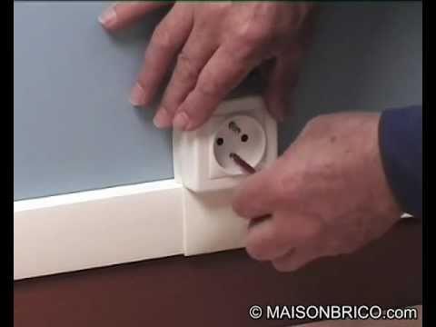Installation électrique Avec Baguettes Et Plinthes En Pvc Maisonbrico Com