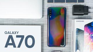 Samsung Galaxy A70 có đáng giá 9 triệu?