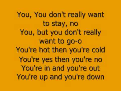 KATY PERRY-HOT N COLD LETRA-LYRICS