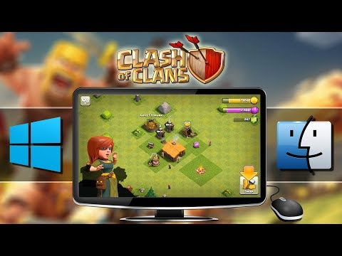 HOW TO PLAY Clash Of Clans (Android/iOS Game) On Windows/Mac | BlueStacks Emulator