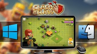 HOW TO PLAY Clash of Clans (Android/iOS Game) on Windows/Mac   BlueStacks Emulator