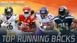 Top running backs in 2015 & What's next for RGIII | Move the Sticks | 09/1/15