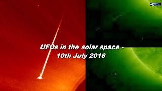 UFOs in the solar space - 10th July 2016