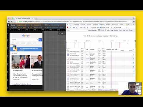 AMP HTML (Accelerated Mobile Pages) demo