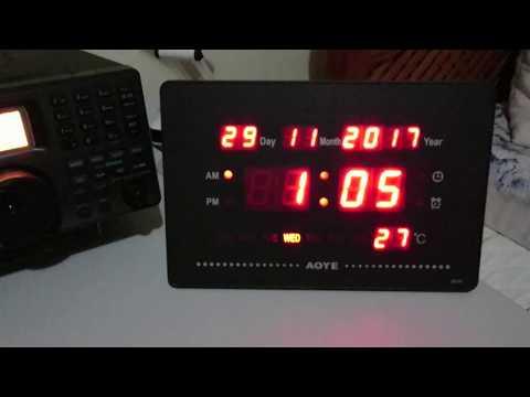 Bangkok Meteorological Radio - 6765 kHz - Bangkok/Thailand