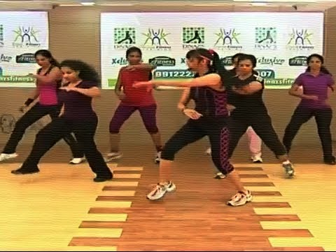 Aerobic Fitness Dance Workout for Beginners