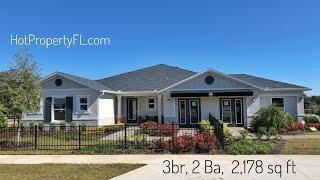 3 BR 2 Ba 2178 sq ft  Clermont FL 285k Base Price