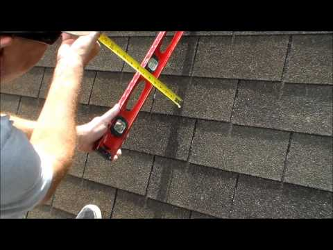 How to Find the Pitch of a Roof - with a Level and a Measurement Tape