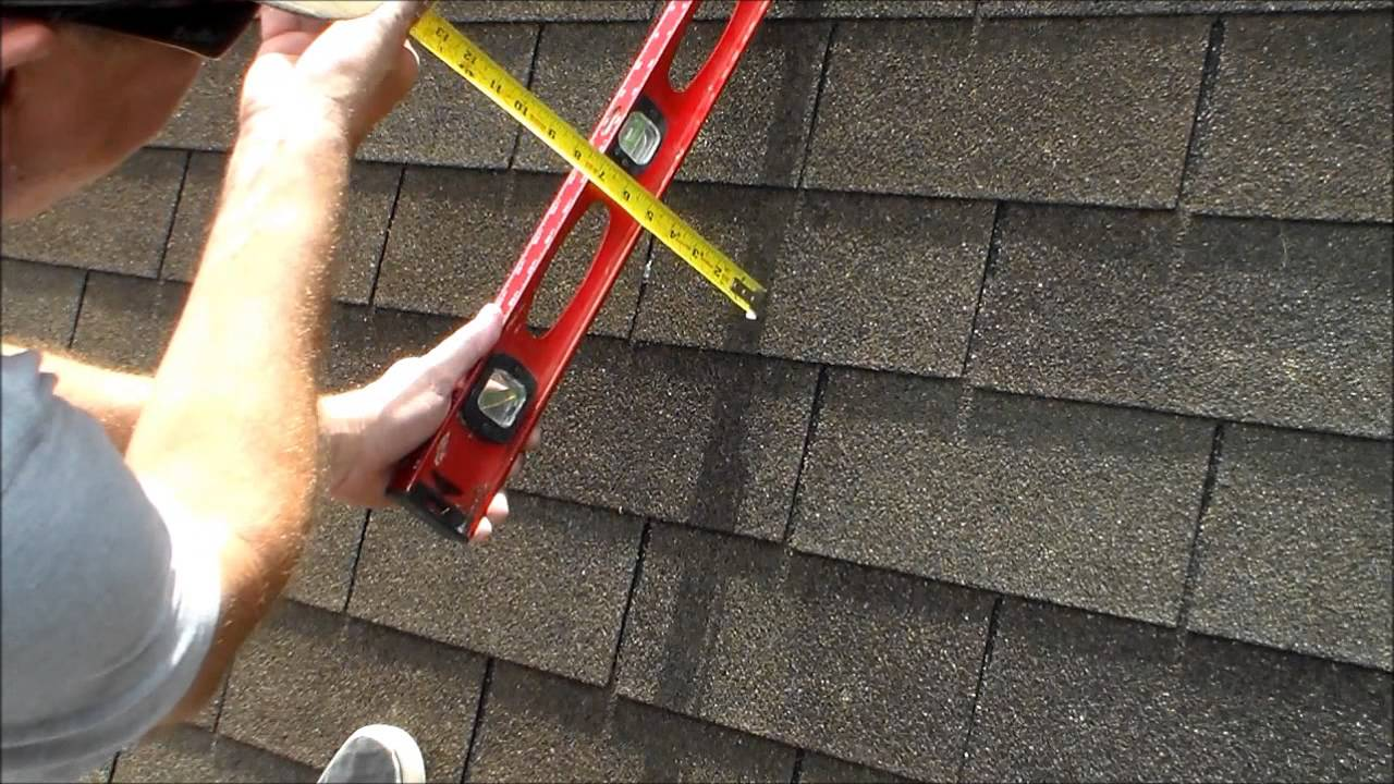 how to find the pitch of a roof with a level and a measurement tape youtube - How To Measure Roof Pitch