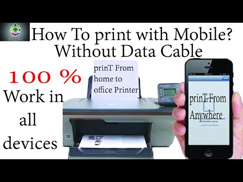 How to print from android phone ( without wifi-printer ...