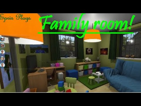 House Flipper Making A Family Room Youtube