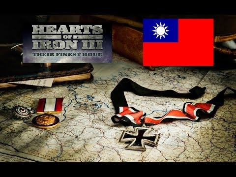 Hearts of Iron 3 Their Finest Hour - Let´s Play Nationalist China (VH) EP01