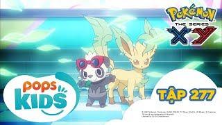 Pokémon Tập 277 -  Trận Đấu Đôi Là Trận Đấu Của Tình Bạn?- Hoạt Hình Pokémon Tiếng Việt  S18 XY