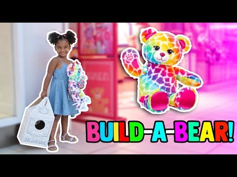 MY FIRST BUILD-A-BEAR WORKSHOP! 🐻
