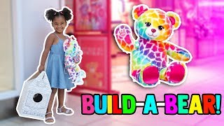 MON PREMIER ATELIER DE BUILD-A-BEAR! 🐻