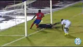 Steeve Elana amazing fail - Martinique vs Haïti   CFU Caribbean Cup
