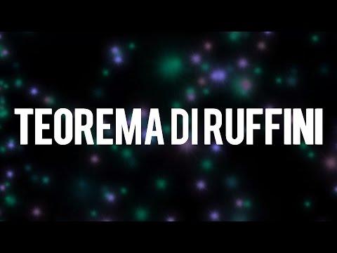 Ripetizioni matematica - Teorema di Ruffini (risoluzione equazioni di grado superiore al secondo)