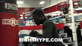 ADRIEN BRONER INSANE NON-STOP 40-MINUTE HEAVY BAG WORKOUT