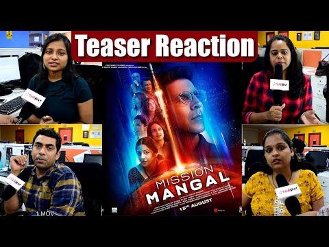 Mission Mangal Teaser Reaction: Akshay Kumar | Vidya Balan | Taapsee Pannu | FilmiBeat Mp3