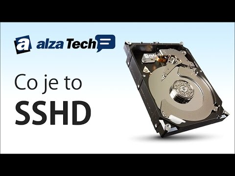Co je to SSHD disk? - AlzaTech #56