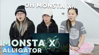 "MV REACTION | MONSTA X (몬스타엑스) ""Alligator"""