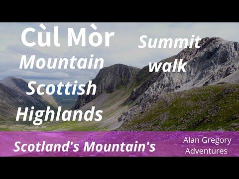 CUL MOR MOUNTAIN HIGHLANDS OF SCOTLAND ASSYNT SUTHERLAND HIKE