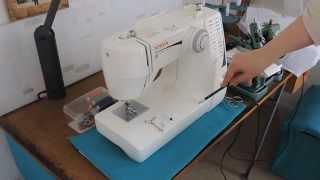 Устройство и принцип работы швейной машины(Ознакомление с устройством,и принципом работы швейной машины. Представлен показ заправки верхней и нижней..., 2015-04-26T14:50:05.000Z)