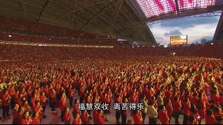 卢台长新加坡8万人大法会祈福仪式!震撼天庭~