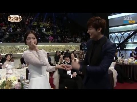 Lee min ho & Park shin hye before and now, Lee min ho and park shin hye changed