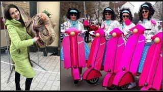 Влог. Германия, карнавал, transferGo,обзор робота-пылесоса, шоу динозавров, меня оштрафовали