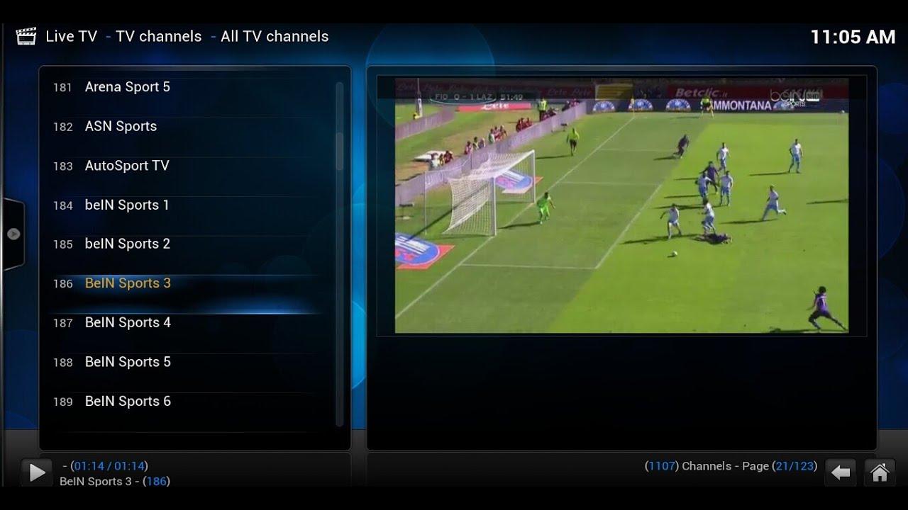 VISSON MX Live TV with XBMC BeIN Sports TV BBC News Arabic IPTV ...