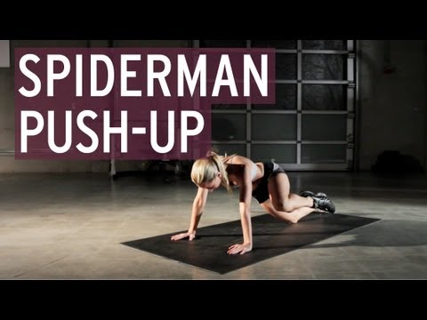 Spiderman Push-ups