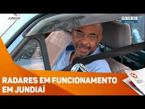 Radares Em Funcionamento Em Jundiaí - TV SOROCABA/SBT
