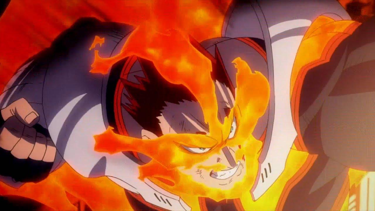 Boku no Hero Academia Season 4 Final Battle [AMV] - Legends Never Die - Endeavor vs Noumu