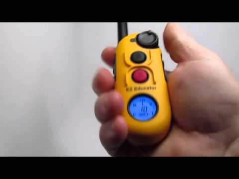 E-Collar Technologies EZ-900 Educator How To