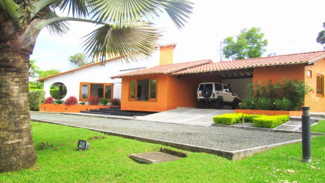Asombrosa casa campestre en quimbayita condominio for Cubiertas para casas campestres