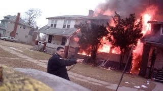 3 well involved house fires on Portage st Highland Park MI fatal thumbnail