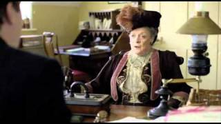 Downton Abbey - Maggie Smith and the Swivel Chair
