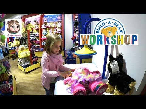 BUILD-A-BEAR WORKSHOP 🐻 Teddys zum Selbermachen ♡ Welches Ku