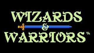 Wizards & Warriors - NES Gameplay