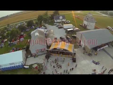 Down on the Farm Music Festival 2015 - Drone Tour