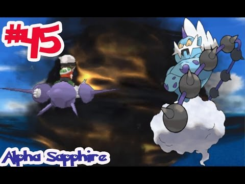 "Pokémon Alpha Sapphire - Ep45 จับ โวลโทลอส ""Thundurus"" โปเกม่อนในตำนาน กลางพายุ"