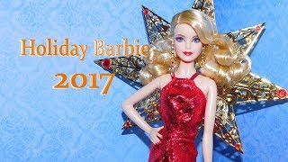 Обзор Holiday Barbie 2017
