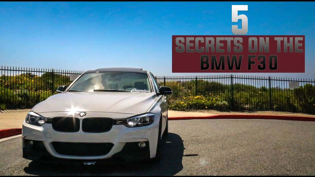 BMW F30 | 5 Secrets Every F30 Noob Should Know