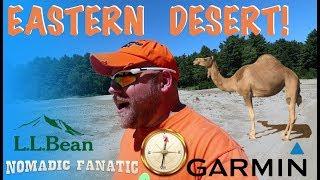 A Desert in Freeport, Maine, LL Bean, & Garmin Fail