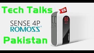 ROMOSS Sense 4P 10400mAh Power Bank Review - Tech Talks Pakistan