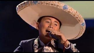 """Brian canta """"Ay Chabela"""" en """"La Voz Kids"""""""