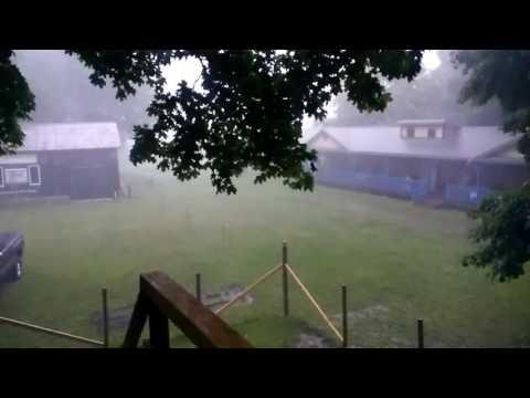 Summer Thunderstorm in Allen, Michigan